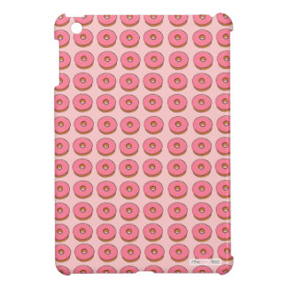 Pink donut design ipad case