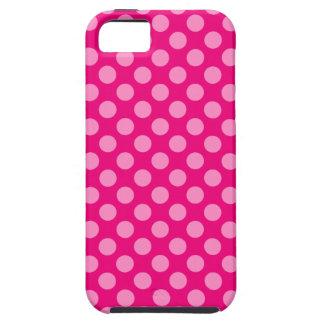 Pink Dots Tough iPhone 5 Case