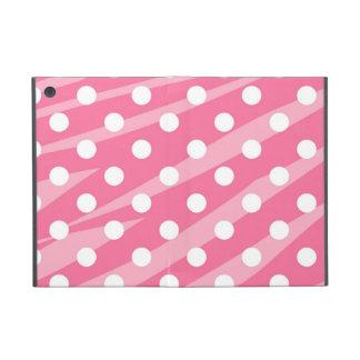 Pink Dots Zebra Print iPad Mini Cases