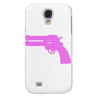 Pink Double Love Gun Samsung Galaxy S4 Cases