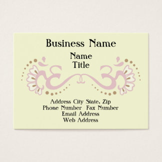Pink Double Om Profile Card