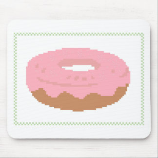 Pink Doughnut with sprinkles Mouse Mat