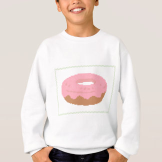 Pink Doughnut with sprinkles Sweatshirt