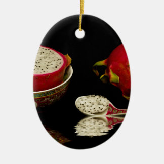 Pink Dragon Fruit Christmas Ornament