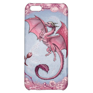 Pink Dragon of Spring Nature Fantasy Art iPhone 5C Cover