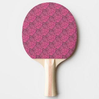 Pink Dragon Scales Ping Pong Paddle