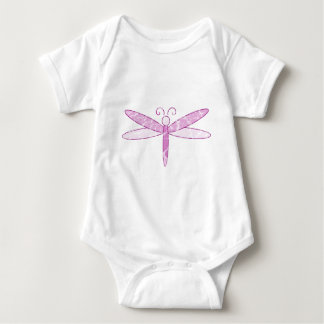Pink Dragonfly Baby Bodysuit