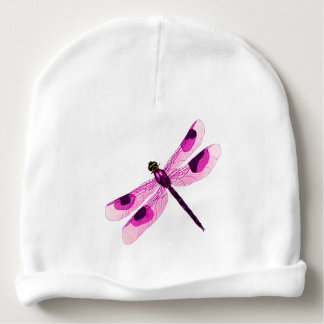 Pink Dragonfly Infant Hat Baby Beanie