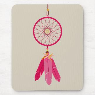 Pink Dreamcatcher Mouse Pad