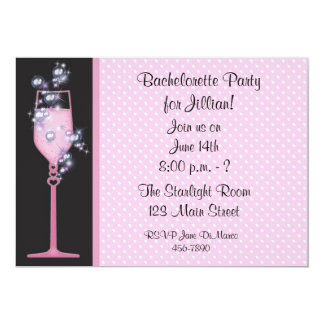 Pink Drink Party Invitation