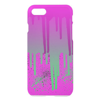 Pink Drippin' Paint iPhone 7 Case