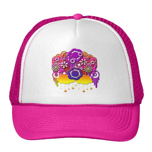 Pink Drips Hat