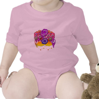 Pink Drips Rompers
