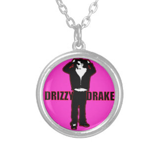 Pink Drizzy Drake Necklace