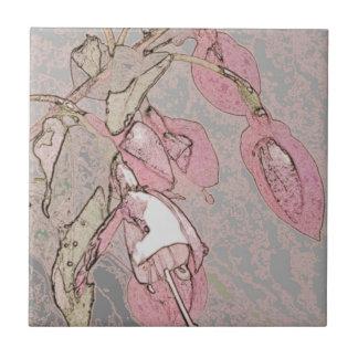 Pink Drops Tile