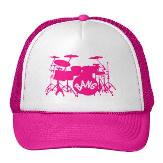 Pink Drum Hat