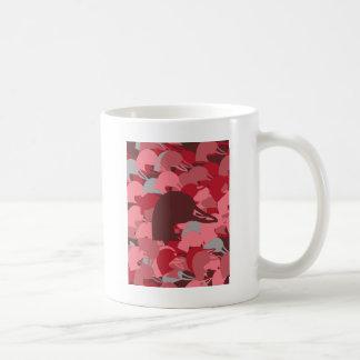 Pink Duck Head Camo Coffee Mug