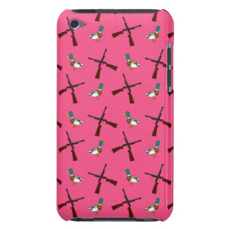 pink duck hunting pattern barely there iPod case