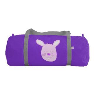 Pink Easter Bunny Gym Bag Gym Duffel Bag