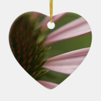 Pink Echinacea Coneflower Blossom Macro Christmas Ornaments