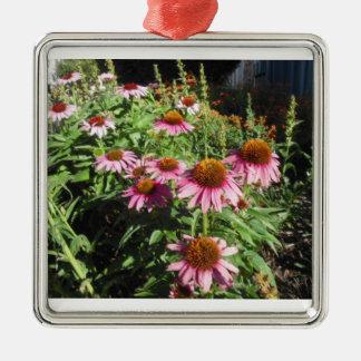 Pink Echinacea Ornament