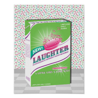 Pink Effervescent Laughter Tablets Poster