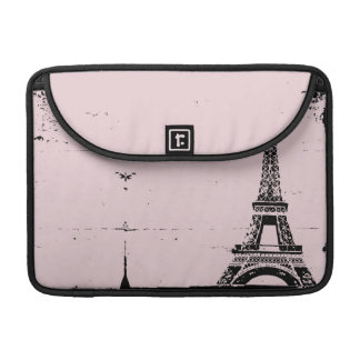 Pink Eiffel Tower Custom MacBook Pro Sleeve