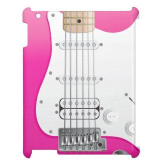 Pink Electric Guitar iPad Case