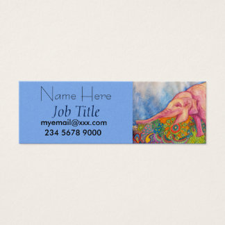 pink elephant business cards