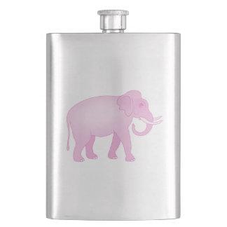 Pink Elephant Flask