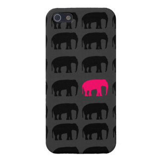 Pink Elephant in the Room Iphone 5 Case