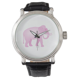 Pink Elephant Watch