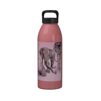 Pink Elephant Drinking Bottles