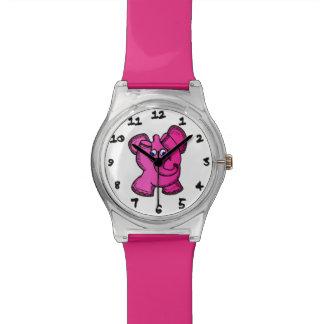 Pink Elephant Wristwatch