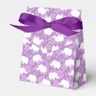 Pink Elephants Favour Box
