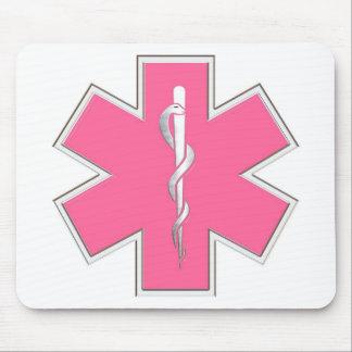 Pink EMT Mouse Mat