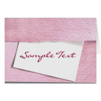 Pink Envelope Card