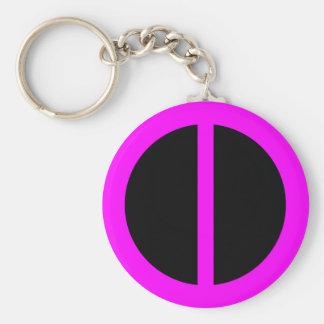 Pink Equality Keychain
