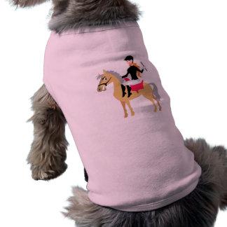Pink Equestrian Girl Shirt