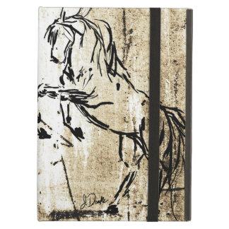 Pink Equestrian Horse Bits iPad Air Covers