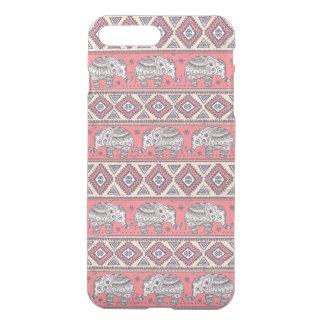 Pink Ethnic Elephant Pattern iPhone 8 Plus/7 Plus Case