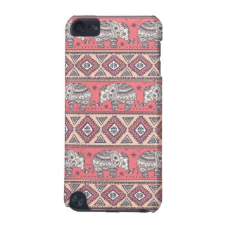 Pink Ethnic Elephant Pattern iPod Touch 5G Covers