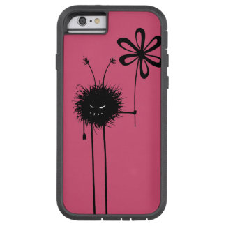 Pink Evil Flower Bug Protective Tough Xtreme iPhone 6 Case