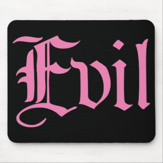 Pink Evil Mouse Pad