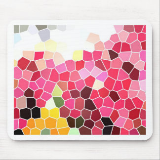 pink explosion mouse pads