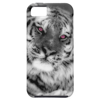 Pink Eyed Tiger iPhone 5 Cases