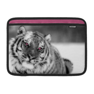 Pink Eyed Tiger MacBook Sleeve
