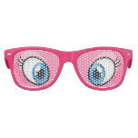 Pink Eyes Cartoon Girl's Party Costume Glasses Party Sunglasses