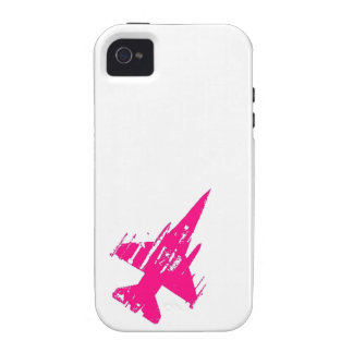 Pink F16 iPhone 4 Case
