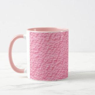 Pink fabric pattern Mug